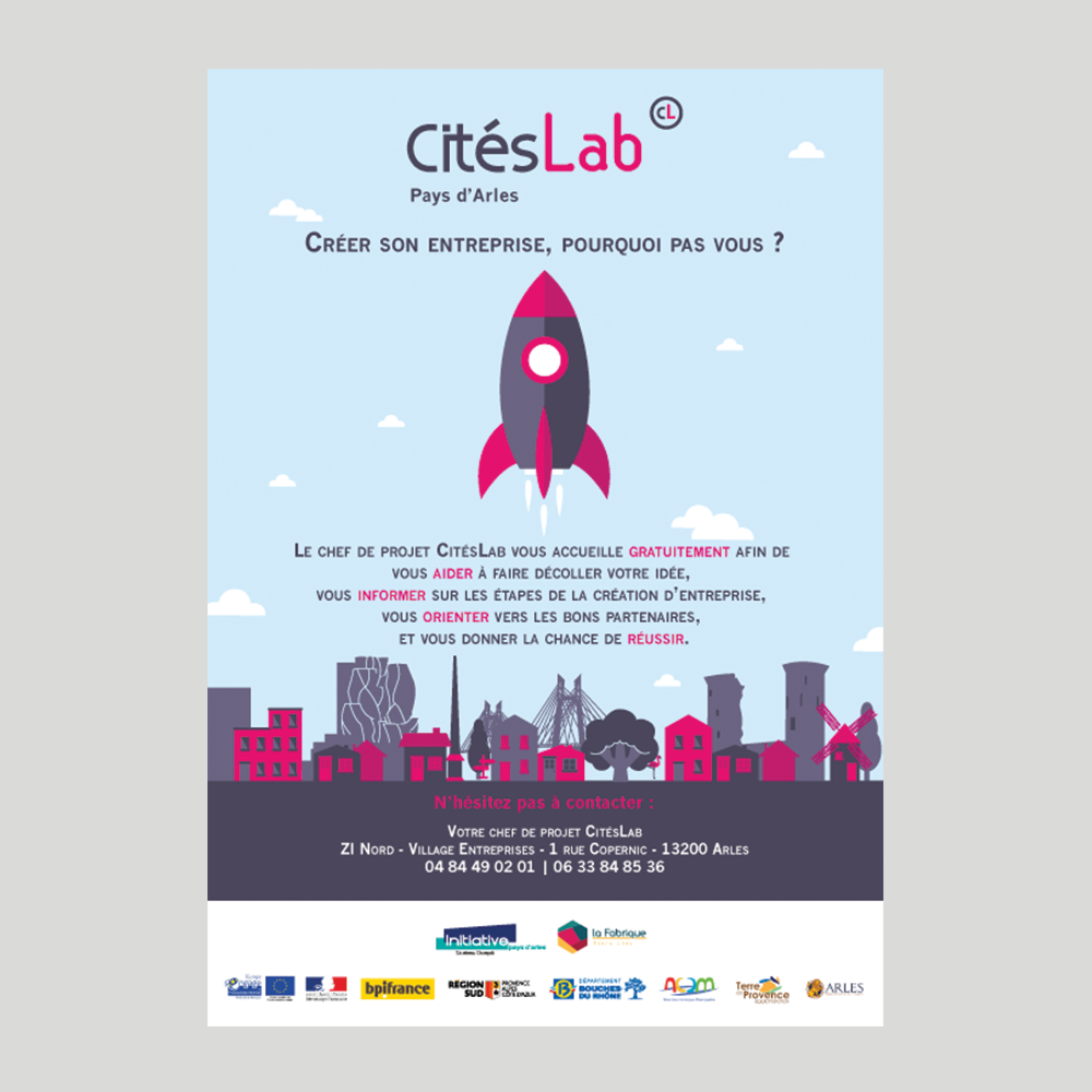 Flyer CitésLab