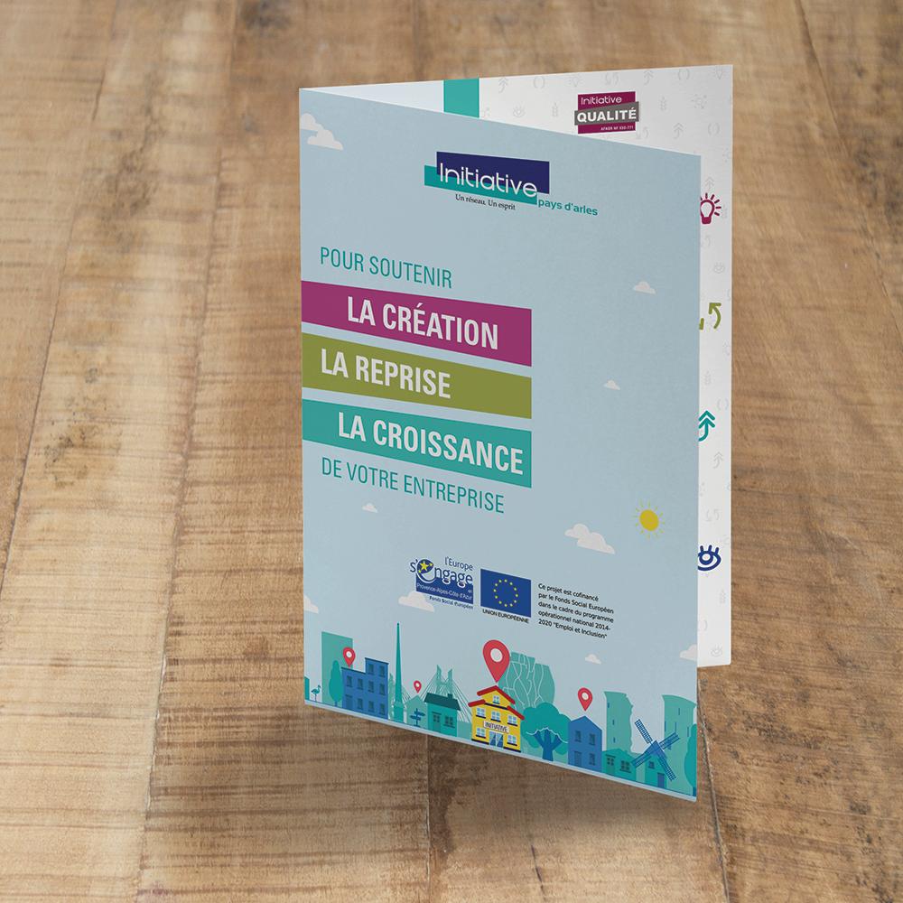 Plaquette de présentation Initiative Pays d'Arles