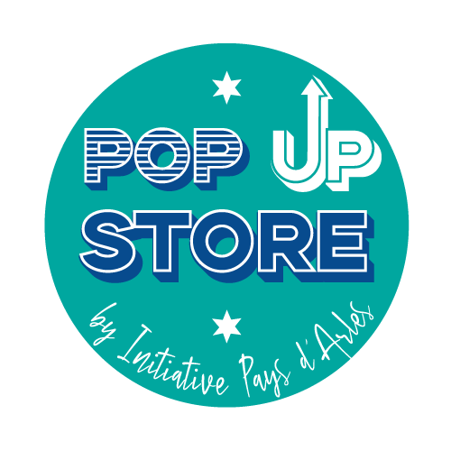 Logo Pop Store by Initiative Pays d'Arles
